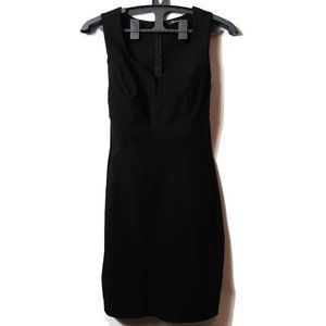 Women's Bloom Dress Black Fitted Large USA